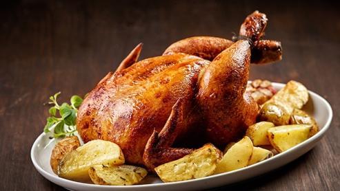 Pollos asados para llevar oropesa